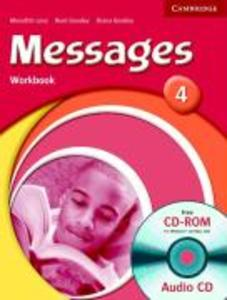 Messages 4 Workbook with Audio CD/CD-ROM als Buch