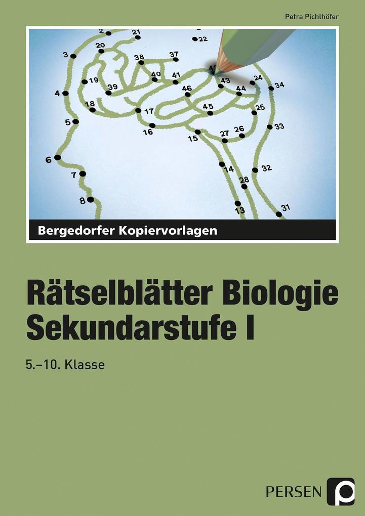 Rätselblätter Biologie als Buch (kartoniert)