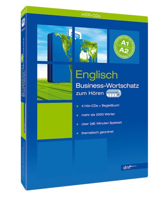 Business-Wortschatz Englisch. 4 CDs als CD
