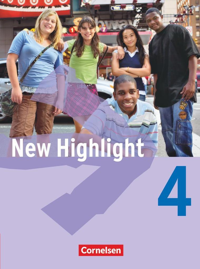 New Highlight 4: 8. Schuljahr. Schülerbuch als Buch (gebunden)