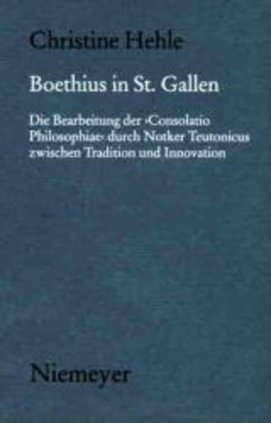 Boethius in St. Gallen als Buch (gebunden)