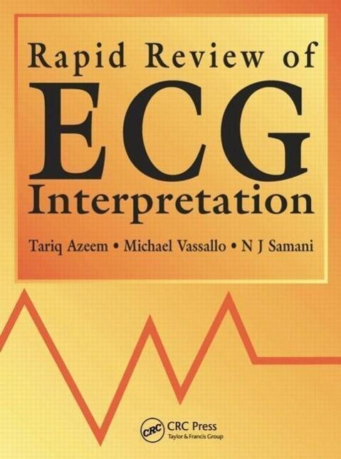 Rapid Review of ECG Interpretation als Taschenbuch