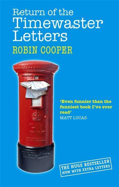 Return Of The Timewaster Letters als Taschenbuch