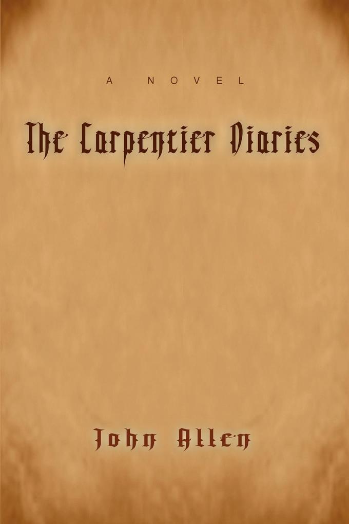The Carpentier Diaries als Taschenbuch