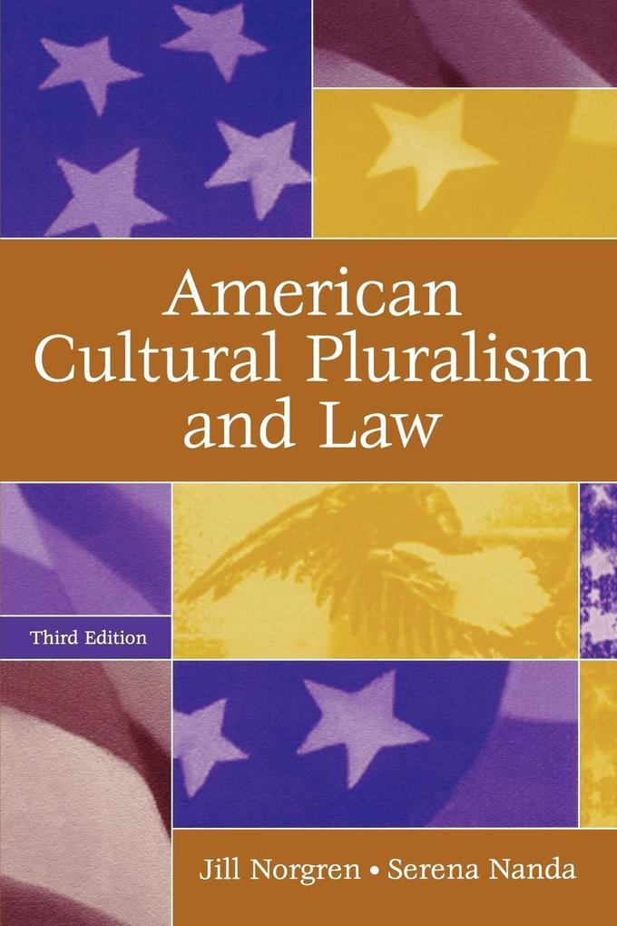 American Cultural Pluralism and Law als Taschenbuch