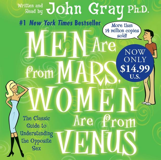 Men Are from Mars, Women Are from Venus als Hörbuch CD