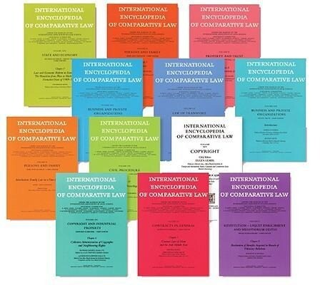 International Encyclopedia of Comparative Law, Instalment 39 als Buch (gebunden)