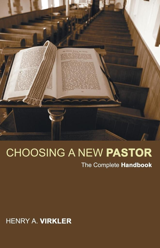 Choosing a New Pastor als Taschenbuch