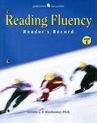 Reading Fluency, Reader's Record, Level E