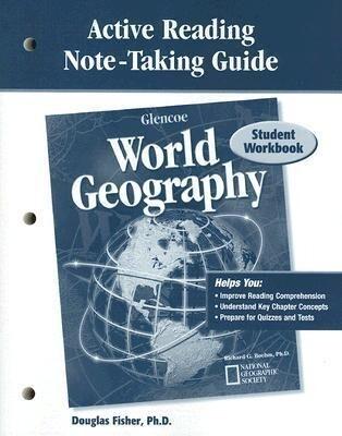Glencoe World Geography, Active Reading Note-Taking Guide: Student Workbook als Taschenbuch