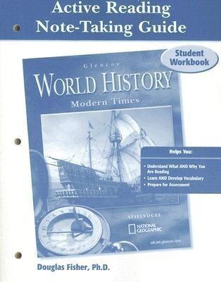 Glencoe World History, Active Reading Note-Taking Guide Student Workbook: Modern Times als Taschenbuch
