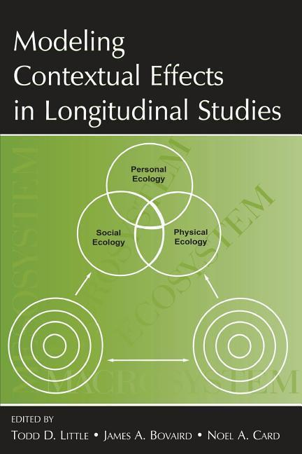 Modeling Contextual Effects in Longitudinal Studies als Taschenbuch
