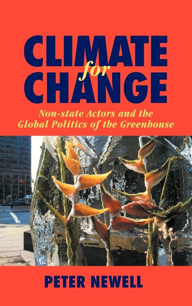 Climate for Change als Buch (gebunden)