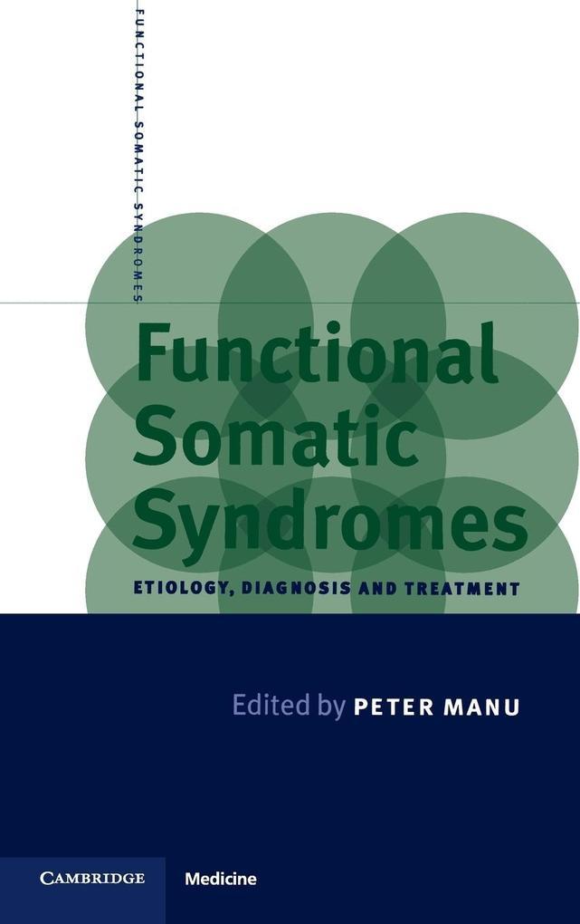 Functional Somatic Syndromes als Buch (gebunden)