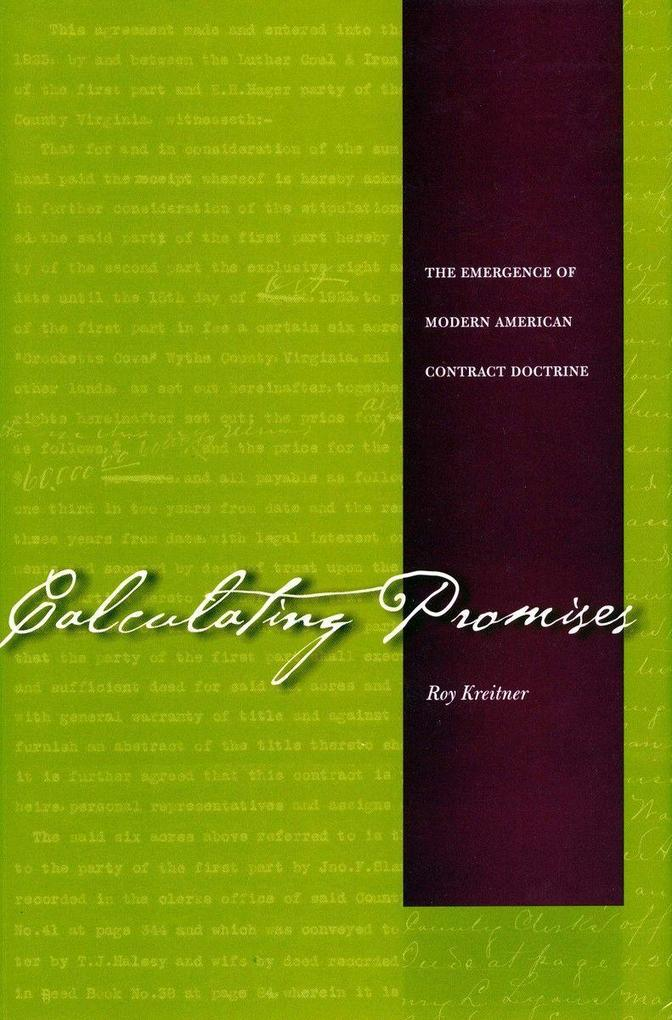 Calculating Promises als Buch (gebunden)