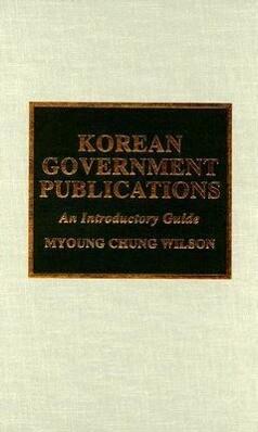 Korean Government Publications als Buch (gebunden)
