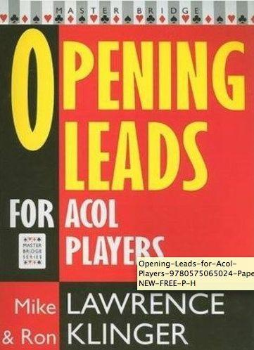 Opening Leads for ACOL Players als Taschenbuch