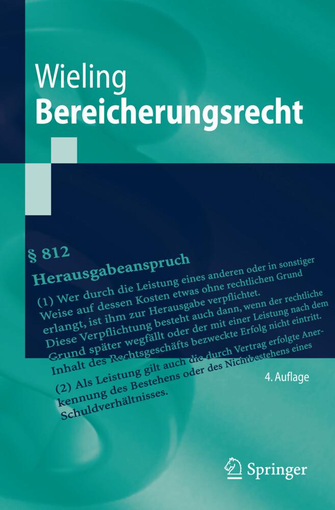 Bereicherungsrecht als Buch (gebunden)