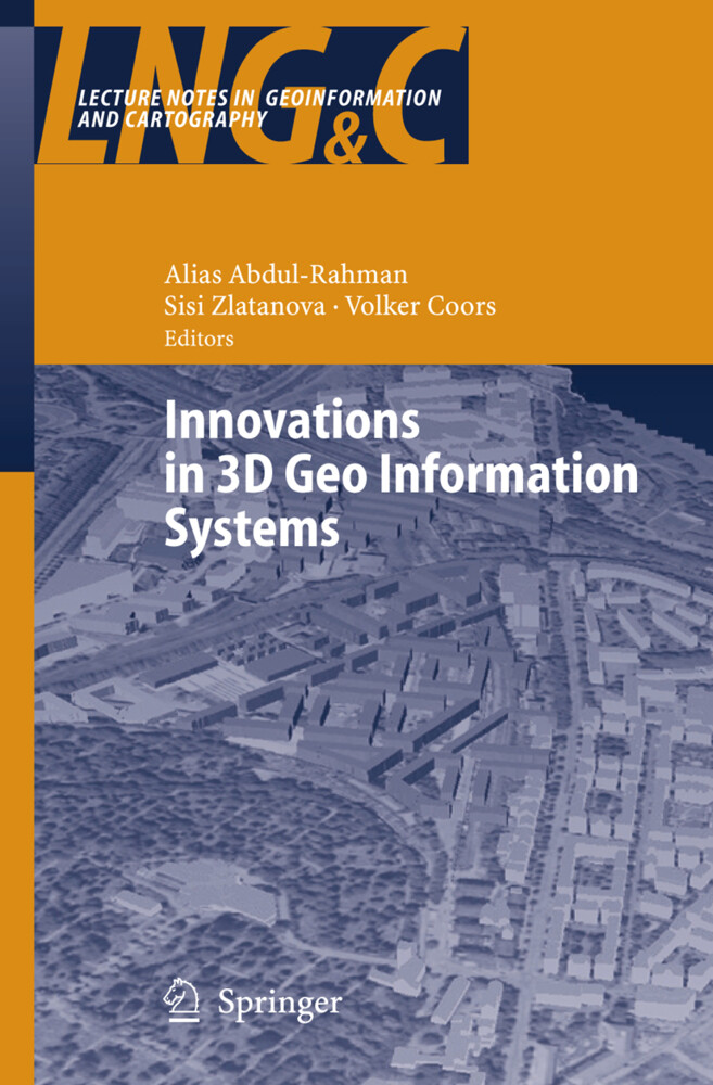 Innovations in 3D Geo Information Systems als Buch (gebunden)