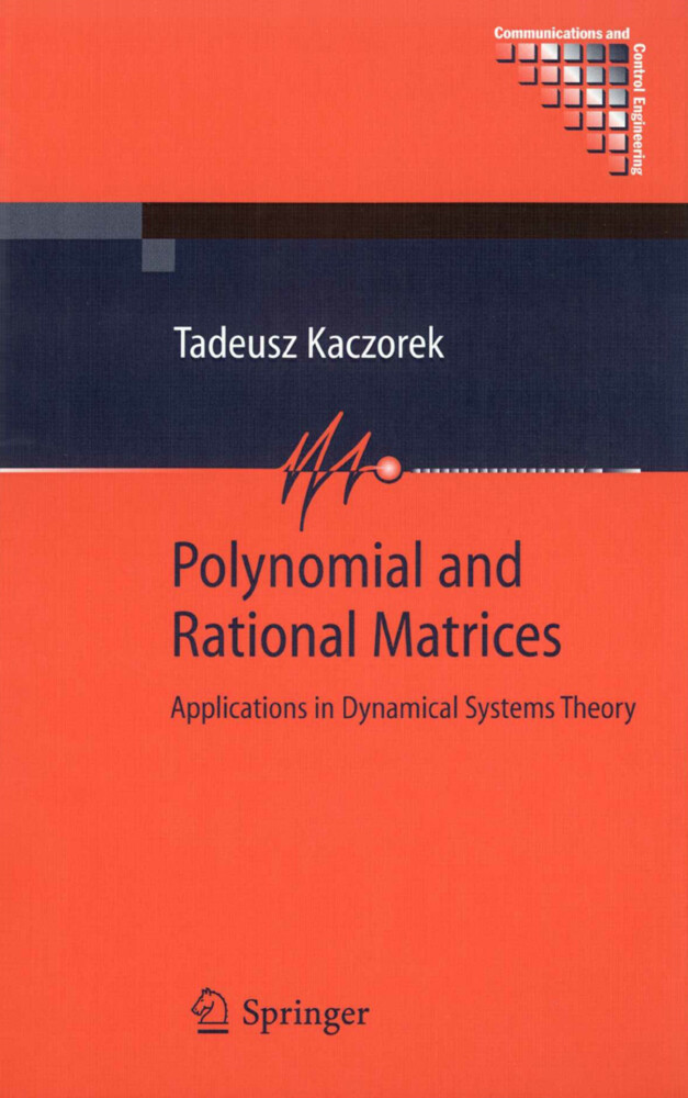 Polynomial and Rational Matrices: Applications in Dynamical Systems Theory als Buch (gebunden)