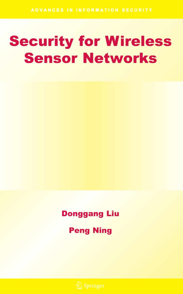Security for Wireless Sensor Networks als Buch (gebunden)