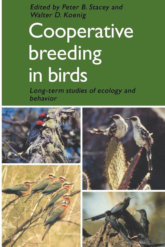 Cooperative Breeding in Birds als Taschenbuch