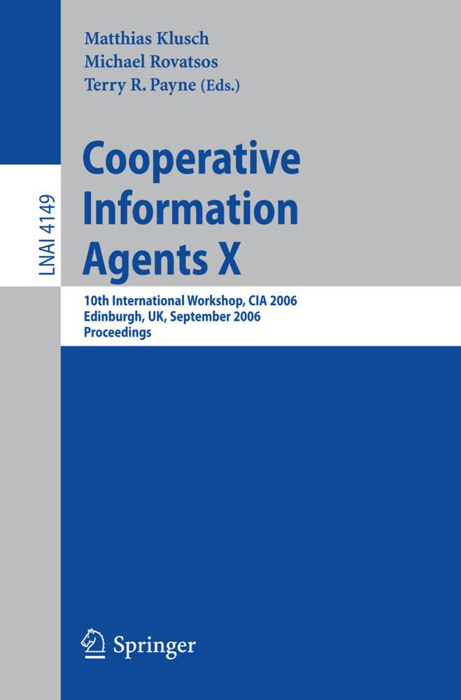 Cooperative Information Agents X als Buch (gebunden)