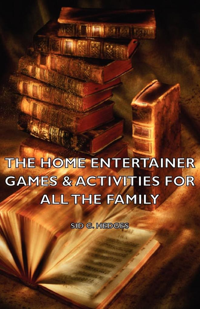 The Home Entertainer - Games & Activities for All the Family als Taschenbuch