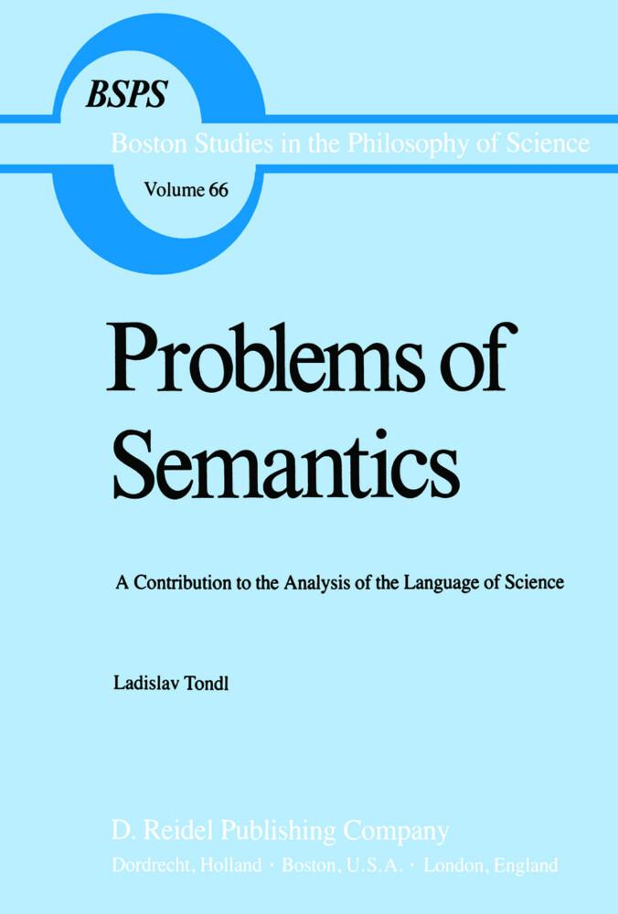 Problems of Semantics als Buch (gebunden)