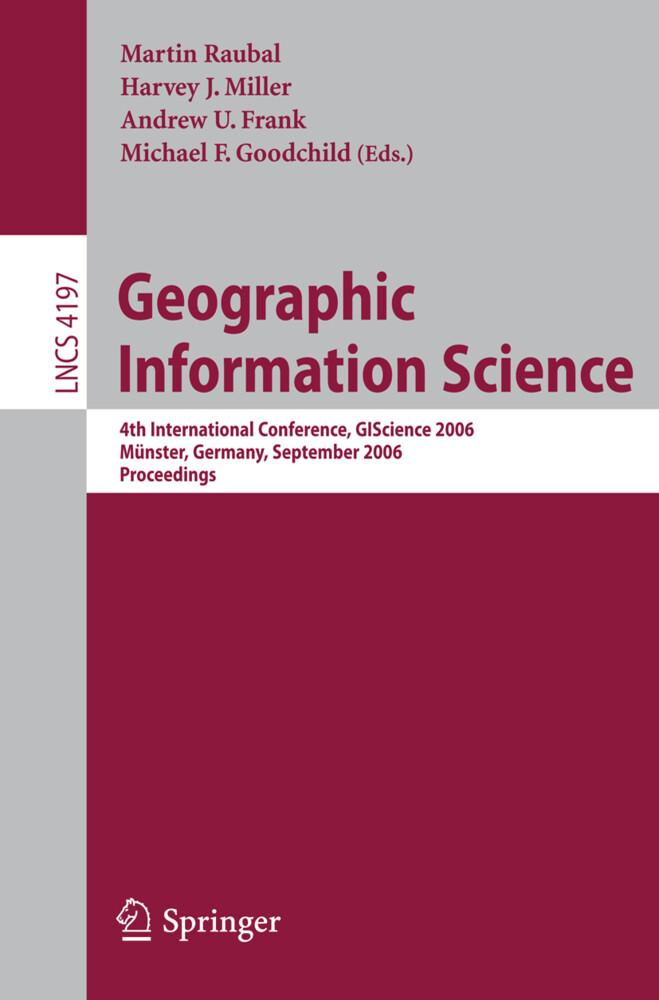 Geographic Information Science als Buch (gebunden)