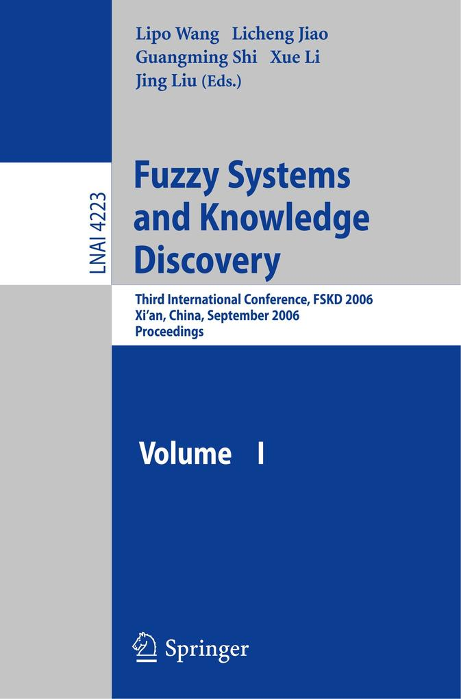 Fuzzy Systems and Knowledge Discovery als Buch (gebunden)