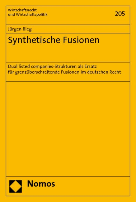 Synthetische Fusionen als Buch (kartoniert)