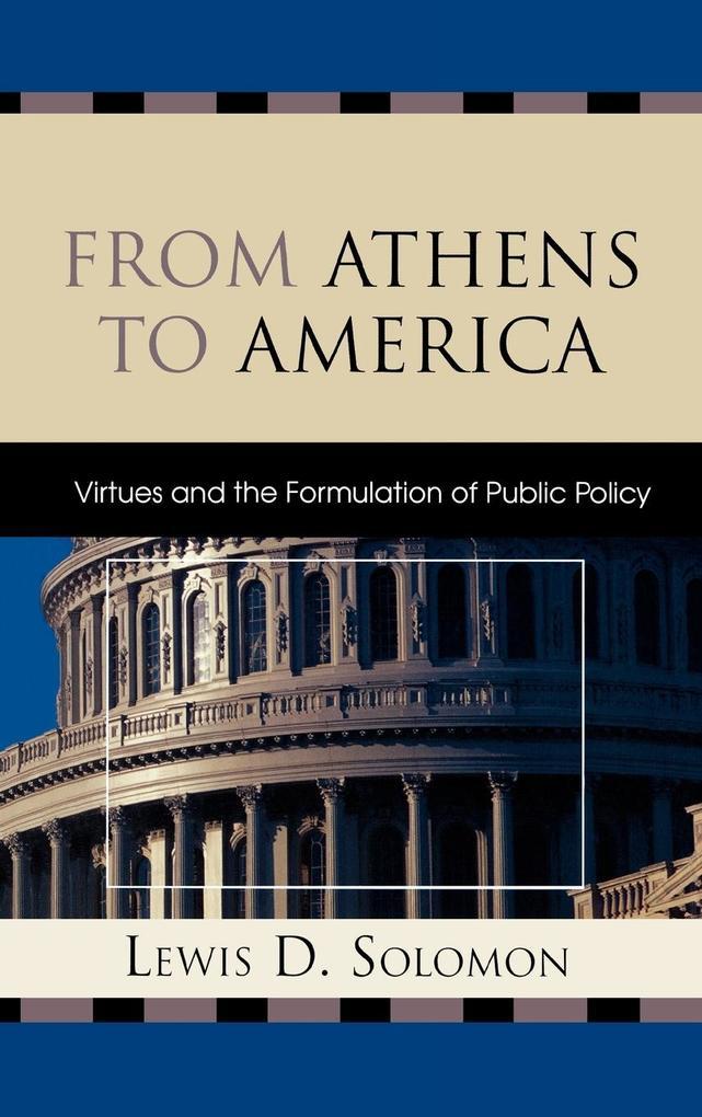 From Athens to America als Buch (gebunden)