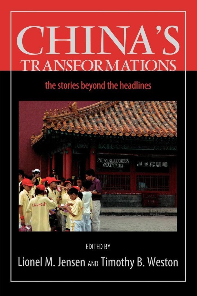 China's Transformations als Taschenbuch