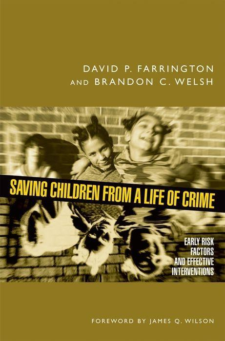 Saving Children from a Life of Crime als Buch (gebunden)