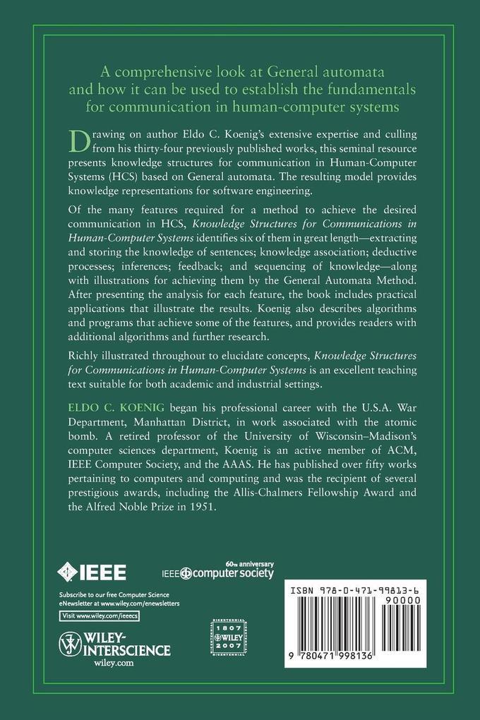 Human-Computer Systems als Taschenbuch