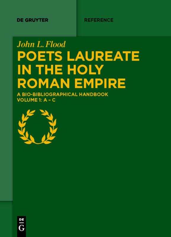 Poets Laureate in the Holy Roman Empire als Buch (gebunden)