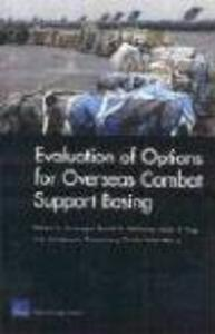 Evaluation of Options for Overseas Combat Support Basing als Taschenbuch