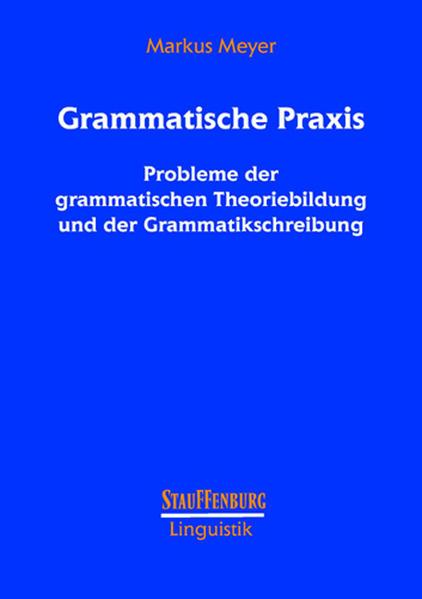 Grammatische Praxis als Buch (gebunden)