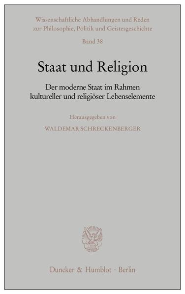 Staat und Religion. als Buch (kartoniert)