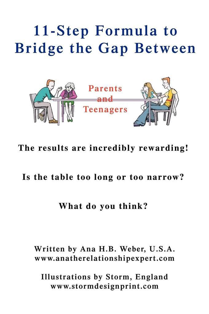 11-Step Formula to Bridge the Gap Between Parents and Teenagers als Taschenbuch