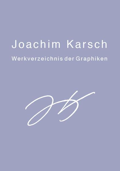 Joachim Karsch als Buch (gebunden)