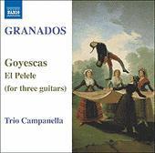 Goyescas Für Drei Gitarren als CD
