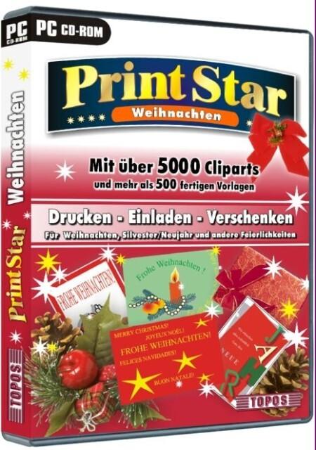 PrintStar Weihnachten. CD-ROM für Windows ab 95 als Hörbuch CD