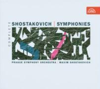 Sämtliche Sinfonien 1-15 (GA) als CD