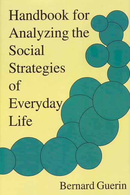 Handbook for Analyzing the Social Strategies of Everyday Life als Taschenbuch