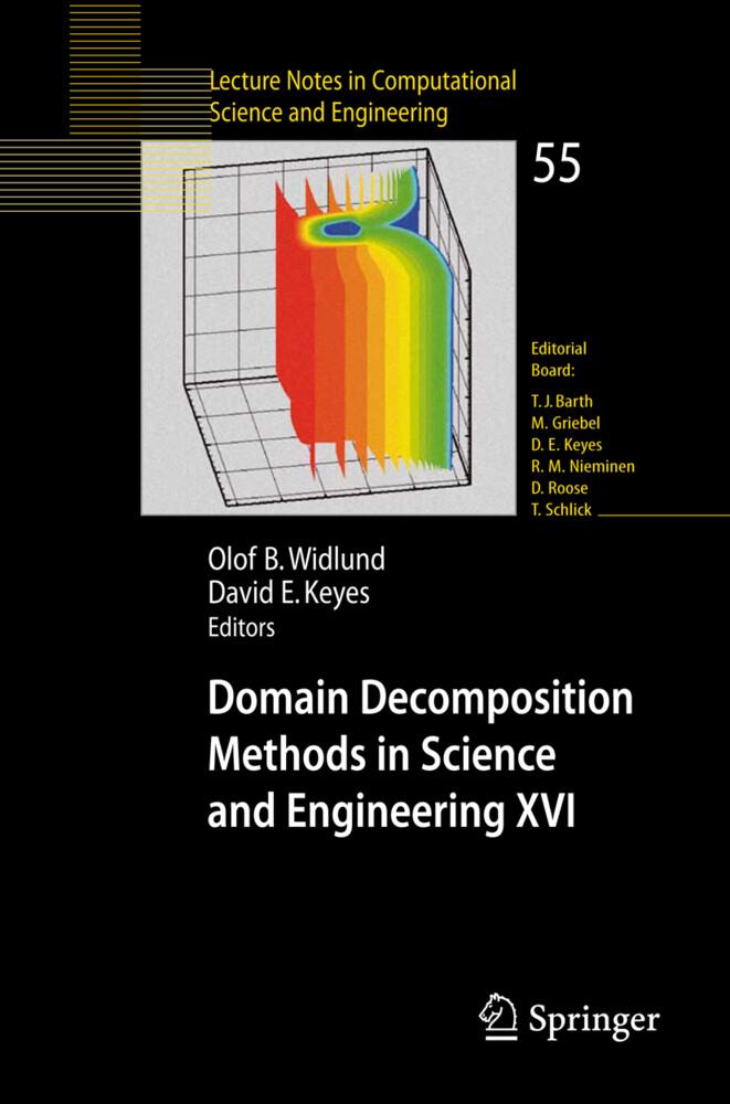 Domain Decomposition Methods in Science and Engineering XVI als Buch (kartoniert)