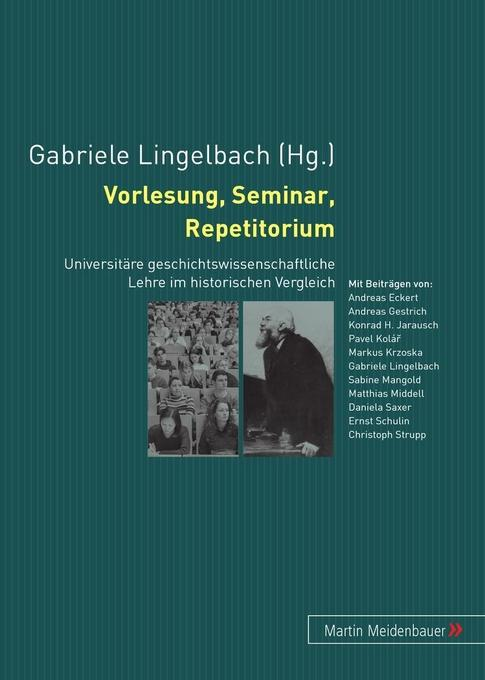 Vorlesung, Seminar, Repetitorium als Buch (kartoniert)