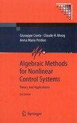 Algebraic Methods for Nonlinear Control Systems