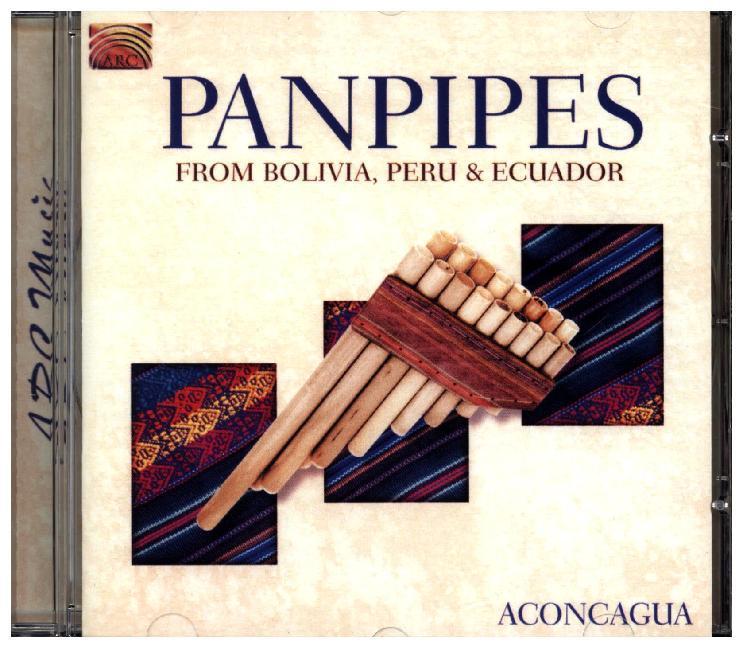 Panpipes From Bolivia,Peru & Ecuador als CD